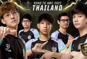 Road to AWC 2021 Thailand